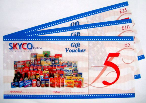 SKYCO GIFT VOUCHERS