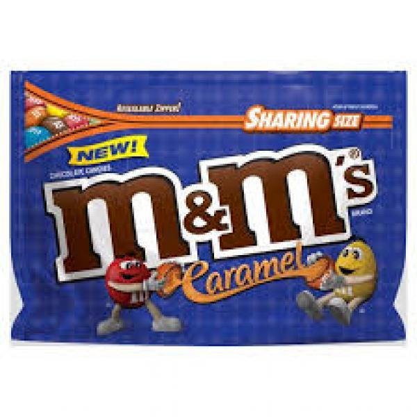 M & Ms Caramel Sharing Pouch 272g
