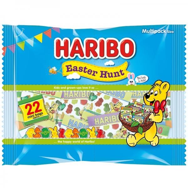 Haribo East Egg Hunt Limited Edition Mini Bags (Approx 22)