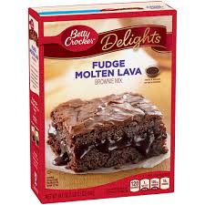Betty Crocker Fudge Molten Lava Brownie Mix