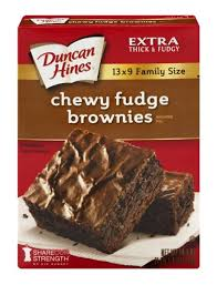 Duncan Hines Chewy Fudge Brownie