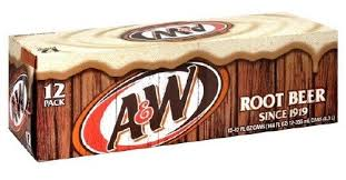A & W Root Beer (USA) 12pk