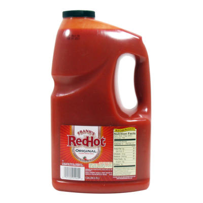 SPECIAL PURCHASE Franks Red Hot Original Sauce Gallon