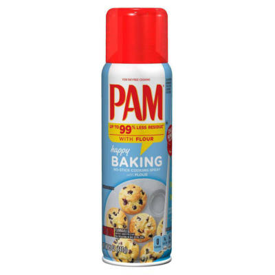NEW Pam Spray with Flour