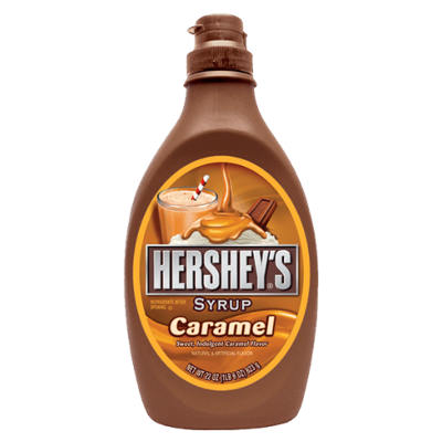 Hershey Caramel Syrup (Squeeze Bottle) 22 oz