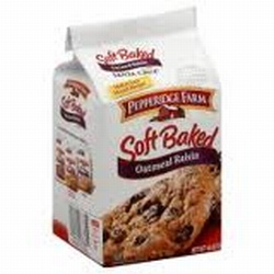 Pepperidge Farm Soft Baked Oatmeal Raisin Cookies