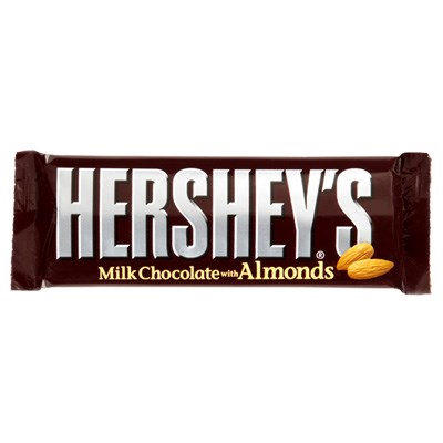 Hershey Chocolate Bar With Almonds 45g