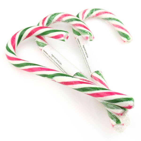 Peppermint Candy Cane (x6) in a bag