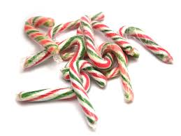 Mini Peppermint Candy Cane x 20