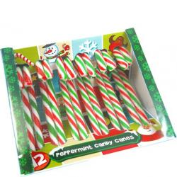 Peppermint Flavour Hard Candy Cane 12x12g   SPECIAL CHRISTMAS OFFER