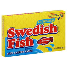 Swedish Fish Theatre Box 99g