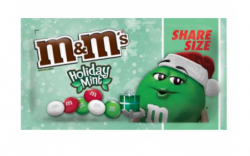M & Ms Holiday Mint Share Size 80g