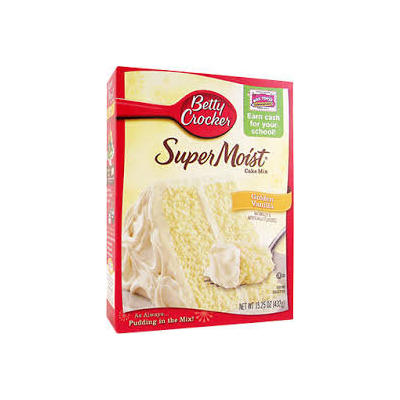 NEW  Betty Crocker Super Moist Vanilla
