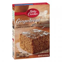 Betty Crocker Gingerbread Cake Mix
