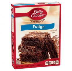 Betty Crocker SuperMoist Fudge Brownie Mix BB Nov 17