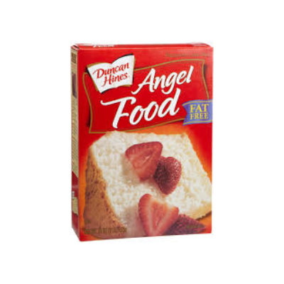 Duncan Hines Angel Cake Mix BB Aug 17