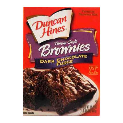 Duncan Hines Double Dark n Fudgy Brownie