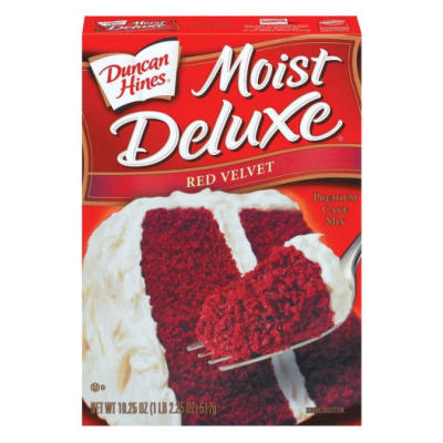 LIMITED OFFER  Duncan Hines Red Velvet Cake Mix