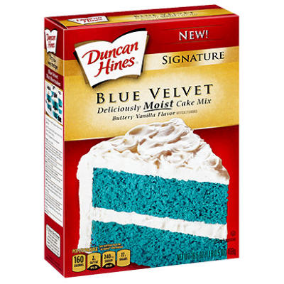 LIMITED OFFER  Duncan Hines Blue Velvet Cake Mix