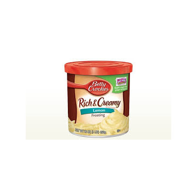 Betty Crocker RTS Lemon Frosting