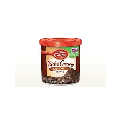 Betty Crocker RTS Chocolate Frosting   NEW LOWER PRICE