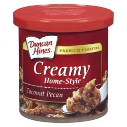 Betty Crocker Coconut & Pecan RTS Frosting ( For German Choc Cake )b/b  18 April 2017