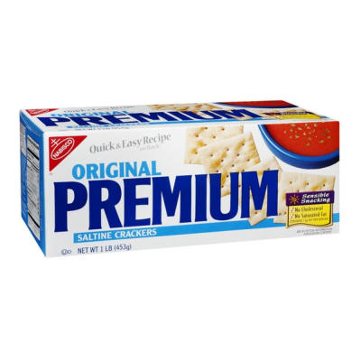 Nabisco Premium Saltine Crackers NEW LOWER PRICE