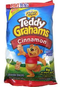 Nabisco Teddy Grahams Cinnamon Snack Bags 3oz