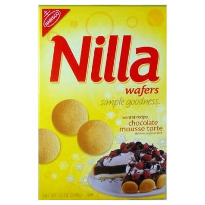 Nabisco  MINI  Nilla Wafers NEW LOWER PRICE