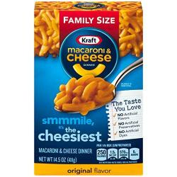 Kraft Macaroni & Cheese (Family Size)14.5oz