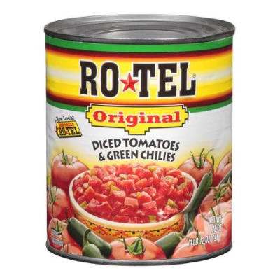 Rotel (Diced Tomato/Green Chilies)