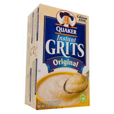 Quaker Instant Grits   NEW LOWER PRICE