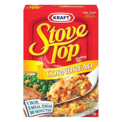 Stove Top Cornbread Stuffing b/b 13 May 2017