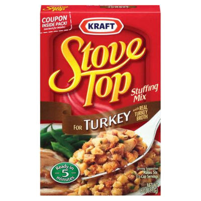Stove Top Turkey Stuffing  CHRISTMAS SPECIAL OFFER LIMITED AVAILABILITY