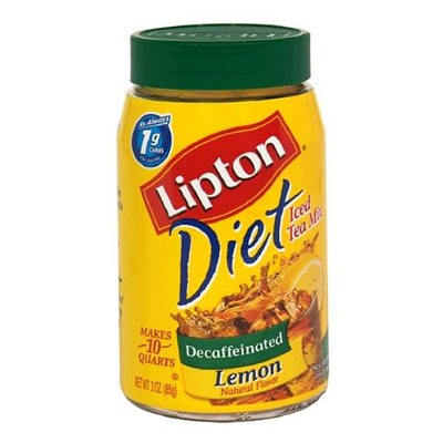 Lipton Decaf Iced Lemon Tea Granules (Sugar Free)