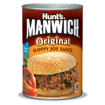 Hunts Manwich Sloppy Joes Sauce