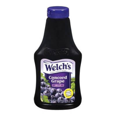 Welchs Grape Jelly (Squeeze Bottle) BB 25 Jan 18