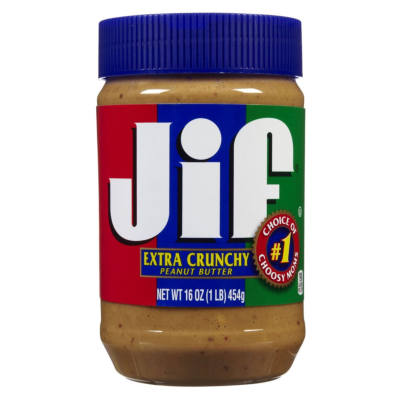 Jif Peanut Butter Crunchie  NEW LOWER PRICE