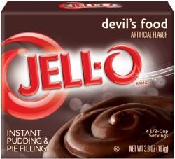 Jell-O Instant Pudding  Devil's Food
