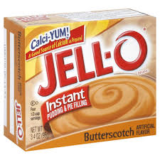 Jell-O Instant Pudding Butterscotch
