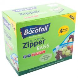 NEW IN Bacofoil Zipper Small Bags x 54