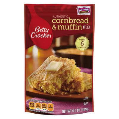 NEW LOW PRICE Betty Crocker Corn Bread & Muffin Mix Pouch