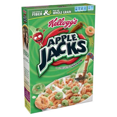 Kelloggs Apple Jacks 12.2oz