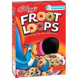 Kelloggs Fruit Loops 12.2oz   BACK INTO STOCK