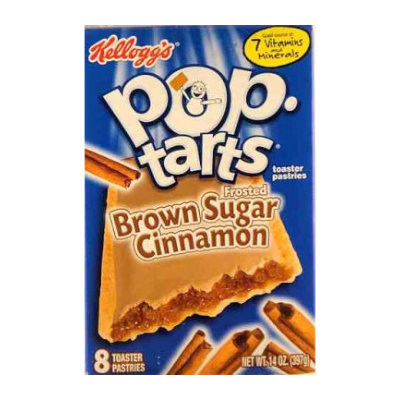 Kelloggs Pop Tarts Frosted Brown Sugar & Cinnamon   NOW IN STOCK