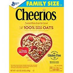 GM Cheerios Plain 340g b/b 28 August 2018