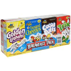 NEW GM Breakfast Pack 8 pouches