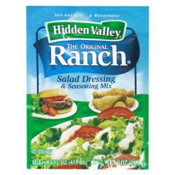 Hidden Valley Ranch Dip Mix pk x4