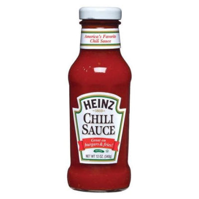 Heinz Chili Sauce  NEW LOWER PRICE