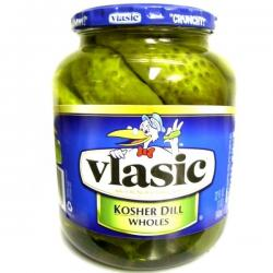 Vlasic Whole Kosher Dills 32oz  NEW LOWER PRICE